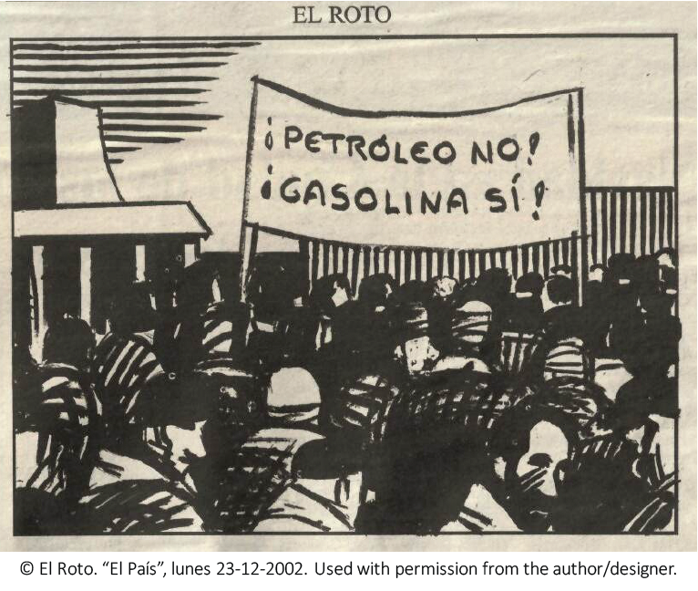 """Less petroleum, more gasoline!"""