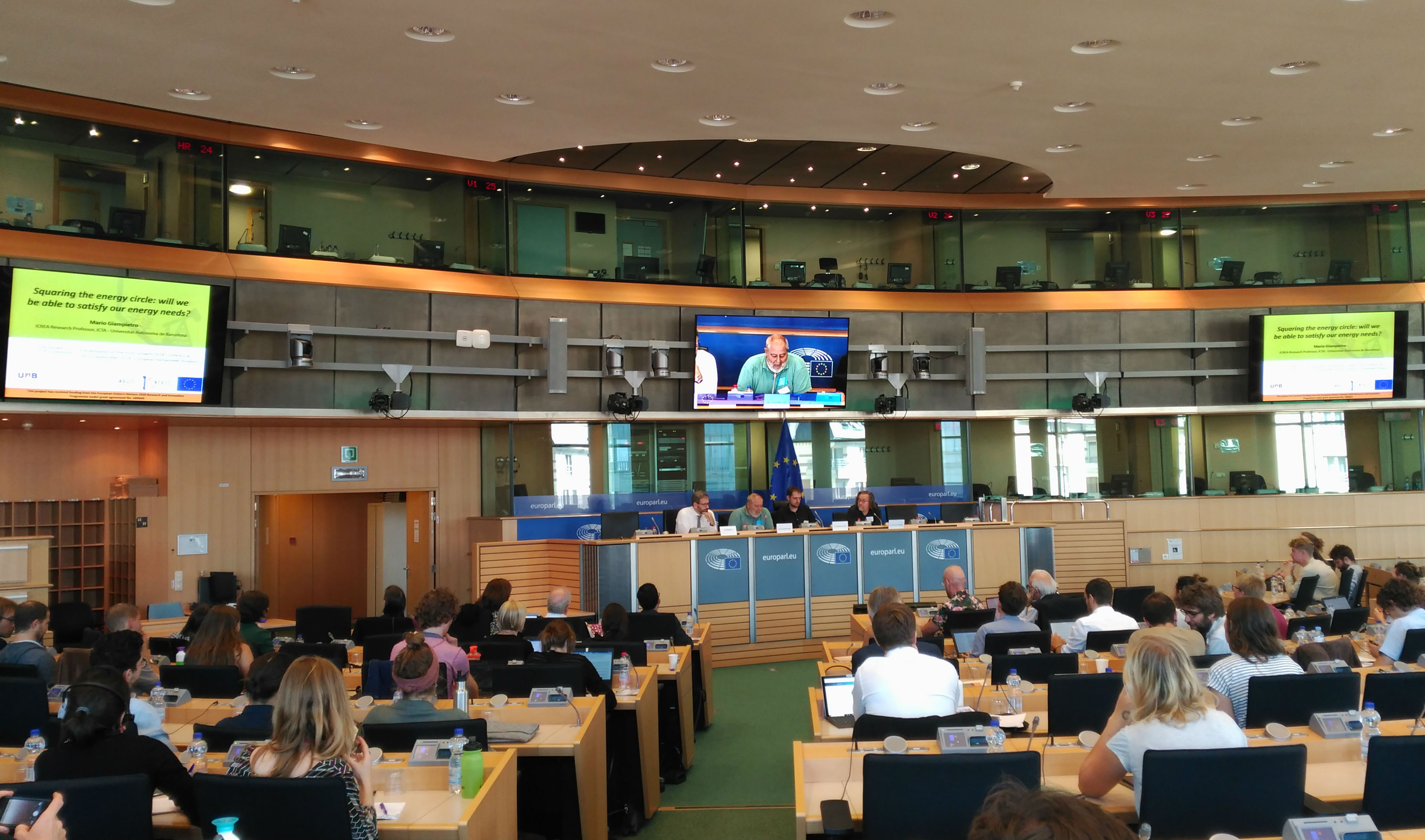 Post-growth2018 Workshop at European Parliament