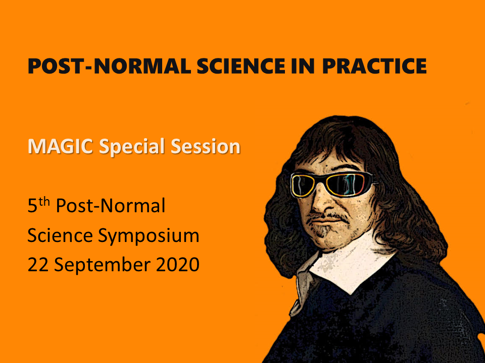 Post-Normal Science in Practice: Lessons Learned from the MAGIC project