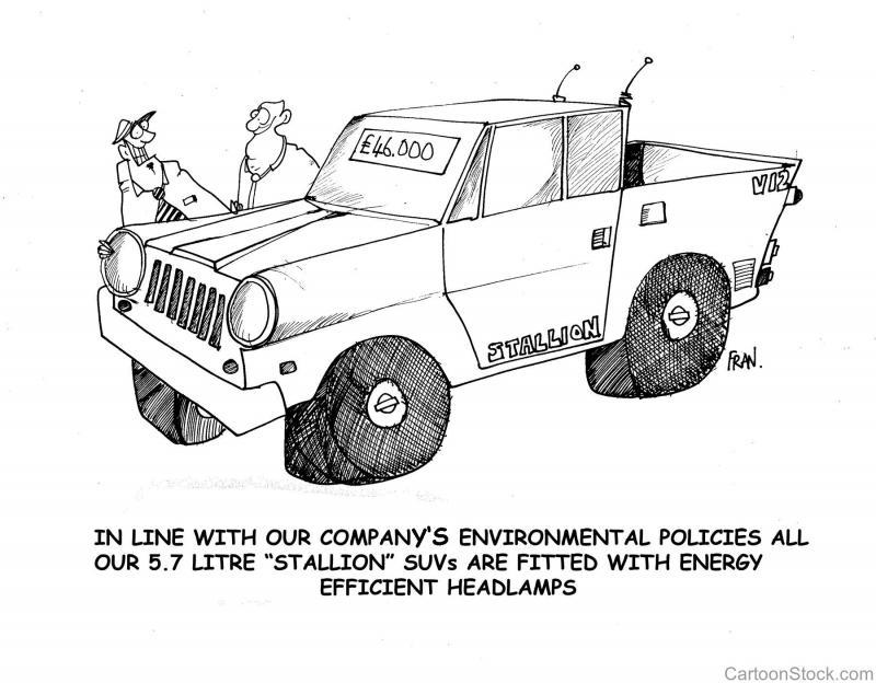 """Efficient"" mega-SUV."